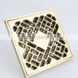 2014 Hot sell Bathroom Brass Floor Strainer Drain/10cm 4 inch Drainer /Floor drain top quality bathroom accessories
