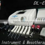 Multifunctional Microdermabrasion machine / Ultrasonic/Scrubber /photon /Vacuum/BIO lifting /Mesotherapy for salon DL-E87 < CE>