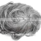 chinese human hair toupee for men