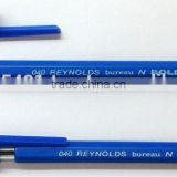 Inquiry about Ball Point Pens :: Available In Blue/Black/Red/Green/Pink/Purple Ink :: 040 Bureau N Bold BallPoint Pens