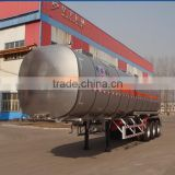 Tri-axles truck bulk bulk powder tank semi trailer bulk cement powder tanker semi trailer for Congo