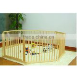 8 Corners Wooden Baby Playpens