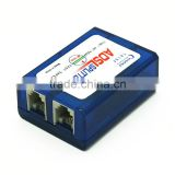 ADSL anti-radar 6P2C RJ11 filter splitter for telephone