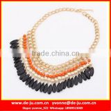 Black Beads Sdfashion Statement Necklaces