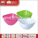 Hot sale cheap clear fda bpa free tableware disposable soup salad wholesale plastic bowl