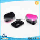 Professional aviopack colorful 8.5cm mini plastic PP hair brush