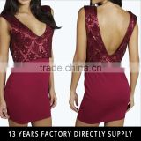 SEQUIN DOUBLE LAYER PLUNGE BODYCON EVENING BOYCON BANDAGE DRESS 2016 SEXY RED CLUB DRESS
