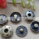 Snap button hidden snap buttons dark blue bronze buckle snaps dark button lift button snap button garment accessories 1.2c