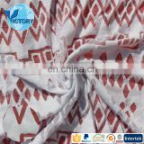 Factory Wholesale Burn Out Terry Microfiber Fabric 80%polyester 20% nylon fabric