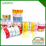 various stretch gift satin ribbon