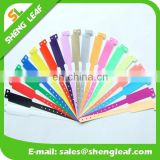 Wholesale cool Tyvek Material Adhesive style disposable paper wristband