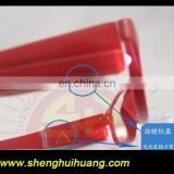 Flashing LED Reading sunglasses with red frame