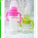 silicone baby bottle with BPA-free