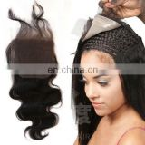 New Products Wholesale 7a Grade Virgin Remy 100% Human Brazilian Closure Pieces,virgin brazilian hair closure
