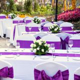wedding polyester tablecloth decoration home and kitchen table linens
