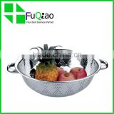 High Quality Cooking Tools food grade stainless steel basket strainer vegetable strainer