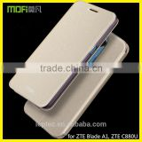 MOFi New Arrival RUI Series PU Leather Phone Flip Cover Cases for ZTE Blade A1, ZTE C880