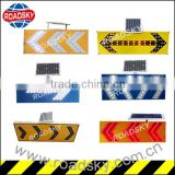 Yellow Aluminum Traffic Control Flashing Arrow Signs