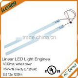 UL certificated LED Troffer Linear Retrofit Lightbar Kit magnetic led light engine