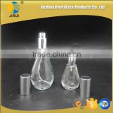 120ml & 50ml pump sprayer sealing type bulb shaped glass perfume bottle                                                                                                         Supplier's Choice