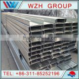 C100*50*20*1.5 C Standard Channel Hot Dipped Galvanized Steel C Purlin Tube / Pipe/ Profile