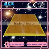 ACS portable wooden dance floor And aluminium edging fast install dance floor for wedding event