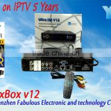 North america customized products fta satellite receiver jb200 module turbo 8psk channels full hd jynxbox ultra v12