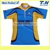 Customized rugby training shirt