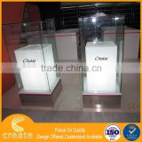 High quality 2013 cell phone retail display stands stand clear plexiglass acrylic cabinet display case