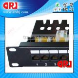 "19"" Rack Mount RJ45 Cat6 24 Ports UTP Patch Panel"
