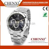 Wholesale wrist watch stainless steel chain black color wrist watch top 10 wrist watch brands