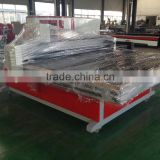 china wuhan factory cnc glass cutting machine/auto shaped glass cutter