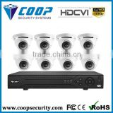 HD CVI 1080P Indoor Monitoring System 8 Channel DVR kit CCTV System Camera Kit