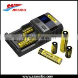 New Nitecore SC2 LCD Display Battery Charger Original Nitecore Charger EU/US/UK Plug Optional