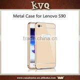 For Lenovo S90 Metal Hard Back Cover Case