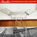 Garment Usage Balcony free standing electric metal clothes drying rack laundry dryer rack (BLG49-1A)