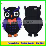 Owl design wholesale 3d silicone cover phone case for Samsung Galaxy S7 edge G9350 phone case cover
