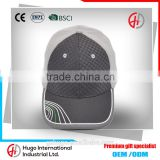 New Trendy Embroidery High Quality Durable Outdoor Sport Curve Custom Cotten-dacron textile Baseball Hat With Woven Patch Logo