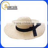 SUNNY SHINE custom fashion beige wide brim fedora hats