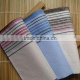 yarn-dyed cotton handkerchief