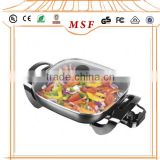 Electric Square Frying Grill Pan With 2 Layer Non-stick Coating                                                                         Quality Choice