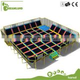 Gymnastics Sports!! Large square cheap indoor trampoline for sale