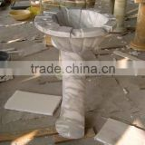 free stand basins, water sink stone, shuitou, china factory vanity marble pieces
