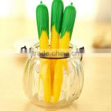 Personalized cute corn shape gel pensbling roller highlilghter maker pens for scrapbook deco painting drawing wedding