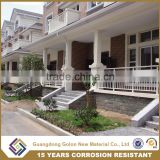 Exterior ornamental wrought iron balcony railings, metal door railing , outdoor handrails for porch steps