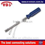 Taiwan hand tools screwdriver head hex nut driver for hose clamp