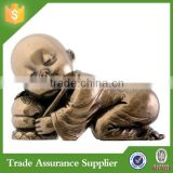 Hot Funny Resin Baby Buddha Statue Sleeping