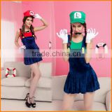 Halloween Costume eplosion models of Europe and America Halloween Sey Super Marie Cosplay clothing foreign trade