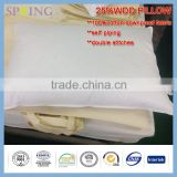 25%White Duck Down 95%white duck feather Pillow Firm Size Natual