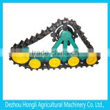 Crawler base for agricultural machinery